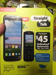 Alcatel eTouch Pop Mega LTE Going to Straight Talk at WalMart