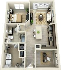 bed closet and office in one one bedroom apartment designs 2 house plans bed closet office bed closet