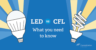 Energy Saving Light Bulbs Comparison Chart Led Vs Cfl Bulbs Which Is More Energy Efficient