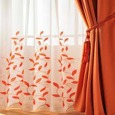 impressive orange sheer curtains and best 25 orange kitchen curtains ideas only on home decor diy