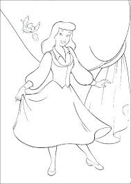 Cinderella Coloring Pages Free To Print Coloring Games Movie