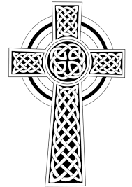 Coloring Cross Pages Celtic Cross Coloring Page Free Printable