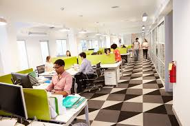office building interior busy. Perfect Office Interior Of Busy Modern Design Office With Building K
