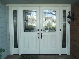 Interesting Pretty White Front Door Glass R On Perfect Design