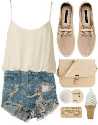 Awesome summer outfits ideas for girls Teenage Awesome Summer Polyvore Outfits Fashionsycom Awesome Summer Polyvore Outfits Fashionsycom