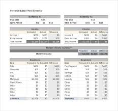 budget tracker excel budget tracker template 10 free word excel pdf documents