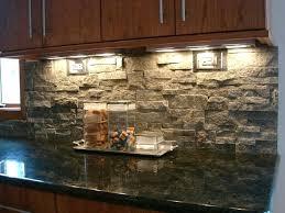 stone veneer kitchen backsplash. Stacked Stone Backsplash Contemporary Kitchen Veneer . O