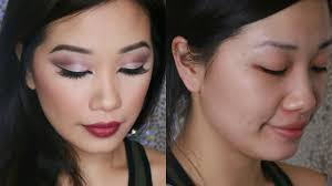 how to do a cut crease on asian eyes makeup transformation you