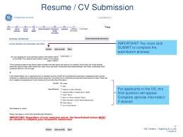 online resume submission form