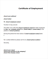 Employee Working Certificate Format sample work certificate Londabritishcollegeco 6