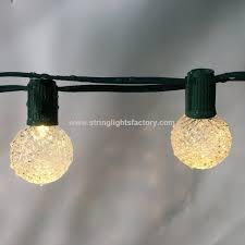 g40 plastic led bulb light globe holiday bulb warm white fairy lights