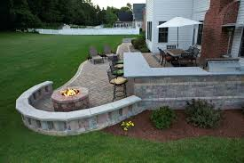 paver patio with gas fire pit. Full Size Of Fire Pit Patio Images Gas Ideas Decorating Relaxing Outdoor Living Using Paver With