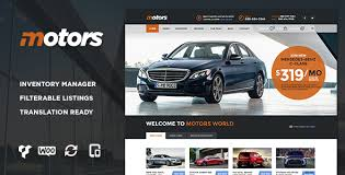Download Free Motors V2 3 Car Dealership Wordpress Theme