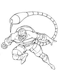 Coloriage Scorpion Spider Man Imprimer