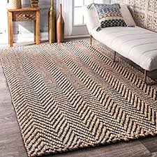innovative chevron jute rug com nuloom vania 6 x 9 navy kitchen