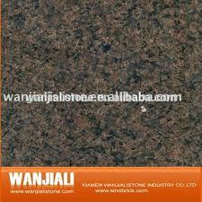 chocolate brown granite colonial cream slabs