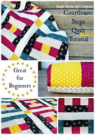 Courthouse Steps (Quilt Block of the Month) - Simple Simon and Company & Courthouse Steps Collage 2 Adamdwight.com