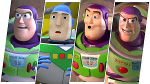 Toy Story Light Show Buzz Lightyear Evolution Toy Story