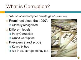 political corruption and hunger in the developing world  3 what is corruption