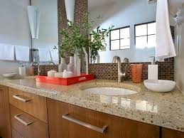 Bathroom Countertops 5 Easy Ways To Declutter Your Bathroom Countertop Hgtv