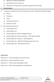 Incident Reporting Policy Pdf Free Download