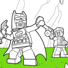 Lego Batman And Joker Coloring Pages Hellokidscom