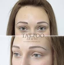 какой татуаж бровей выбрать волосковый татуаж или растушевка