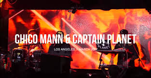 Chico Stage Lighting Boiler Room Chico Mann Captain Planet