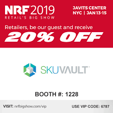 Nrf Size Code Chart Skuvault To Exhibit At Nrf For The First Time In January