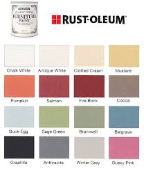 Americana Chalk Paint Color Chart
