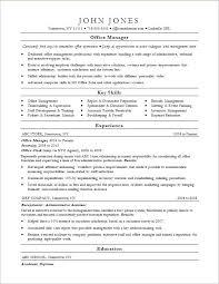Resume Template Monster Office Manager Resume Sample Monster