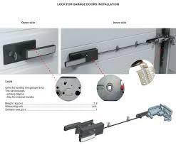 garage door lock handleHigh Precision Hardening Low Garage Door Lock Handle Lf 60005