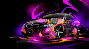bmw e92 m3 super abstract car