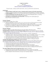 Magnificent Bakery Manager Resume Cover Letter Images Resume