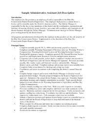 Office Assistant Job Description For Resume Collection Of solutions Administrative assistant Job Description 14