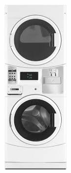 stackable washer and gas dryer. Maytag Commercial Laundry MLG20PDCWW - 27\ Stackable Washer And Gas Dryer S