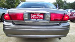 2004 Buick Lesabre License Plate Light 2003 Buick Lesabre Custom Start Up And Review