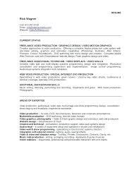 Web Producer Resume Web Producer Resume To Video Production Resume