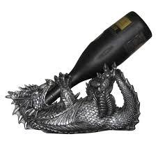 New dragon wine bottle holder liquor or olive oil kitchen ...