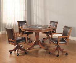 Chromcraft Furniture Kitchen Chair With Wheels Kitchen Kitchen Chairs With Wheels Throughout Top Dinette Table