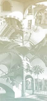 Behang Arte Mc Escher 23183 Fotobehang Behangsitecom