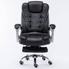 luxury office chair. luxury chair reclining swivel office with footrest ergonomic creamy white leather c