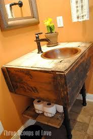 idea wood bathroom sink stands