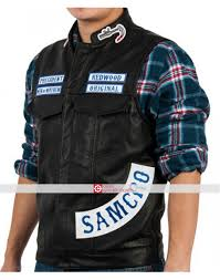 sons of anarchy charlie hunnam jax teller vest