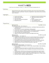 Truck Driver Objective For Resume Sample Resume For Truck Driver Foodcityme 78