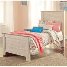 kids bed store. Perfect Bed Signature Design By Ashley Willowton Twin Panel Bed Intended Kids Store T