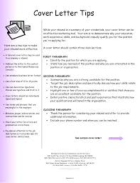 Tips On How To Write A Cover Letter Tips To Writing A Cover Letter