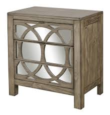 Aspenhome Tildon Liv360 Mirrored Nightstand - Item Number: I56-452