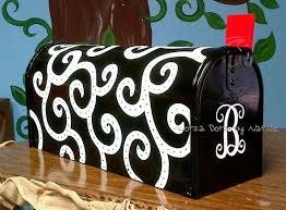 painted mailbox designs. Painted Mailbox Designs S