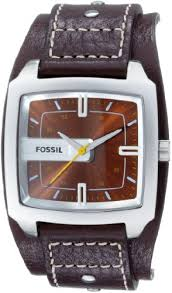 fossil men s jr9990 brown leather watch fossil amazon fossil men s jr9990 brown leather watch fossil amazon